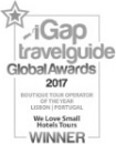 iGap - Travelguide Global Awards 2017 - Winner